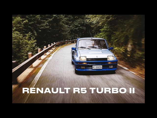 Homologation Specials: Renault 5 Turbo II - Clip