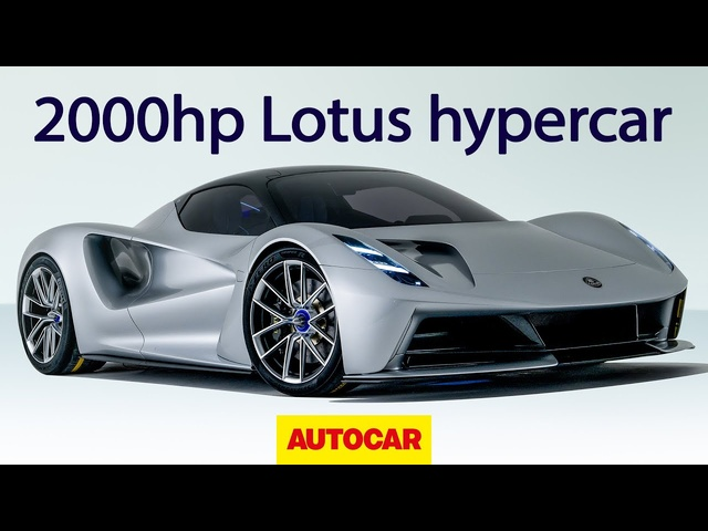 2020 Lotus Evija: 2000hp all-electric hypercar revealed | Autocar