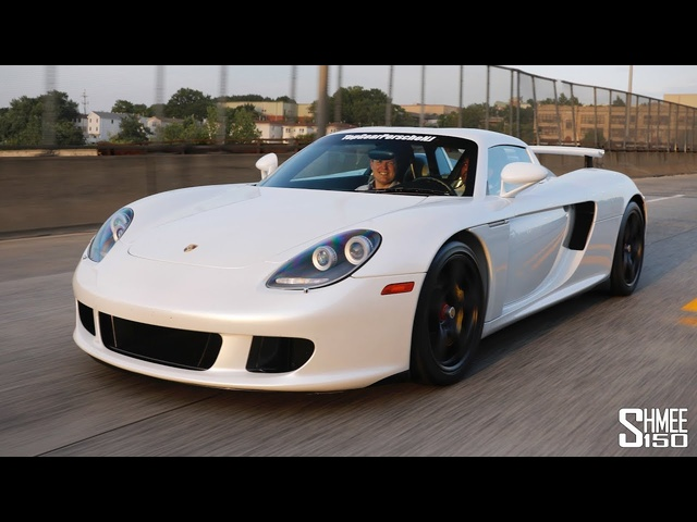 The Porsche Carrera GT DAILY DRIVER in New York!