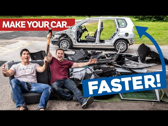 How To Make ASlow Car Fast For FREE!