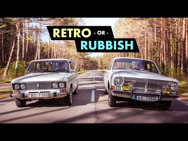 Retro Or Rubbish?: Cool Communist Cars Of The Soviet Union | Carfection 4K