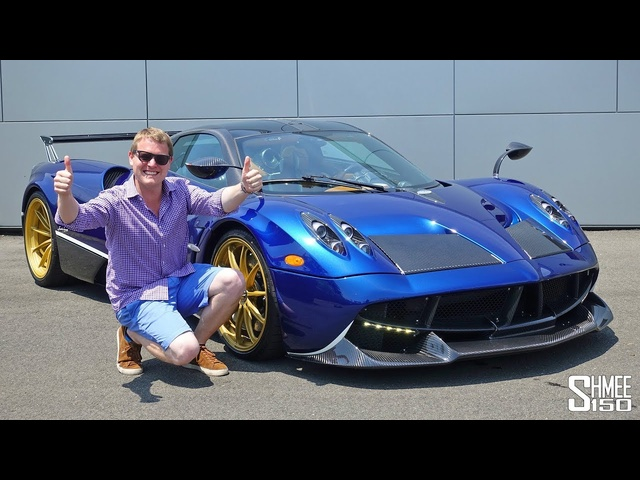 My Drive in a <em>PAGANI</em> HUAYRA Became a Hypercar Frenzy!