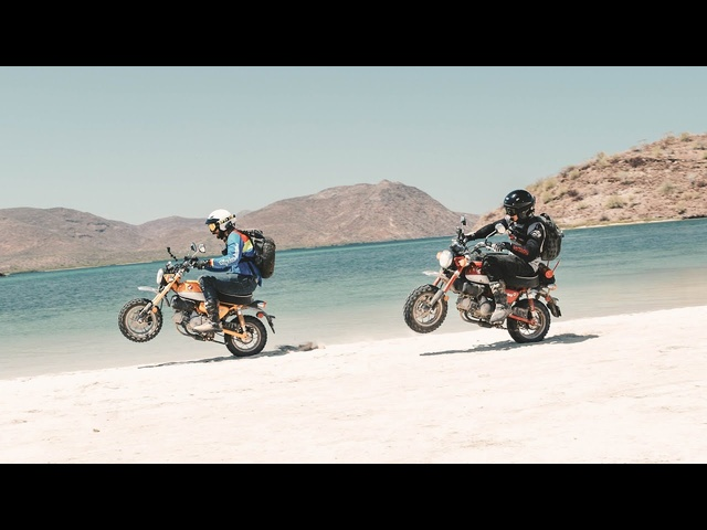 Throttle Out FULL EPISODE - 1,000 Miles in Baja on <em>Honda</em> Monkeys