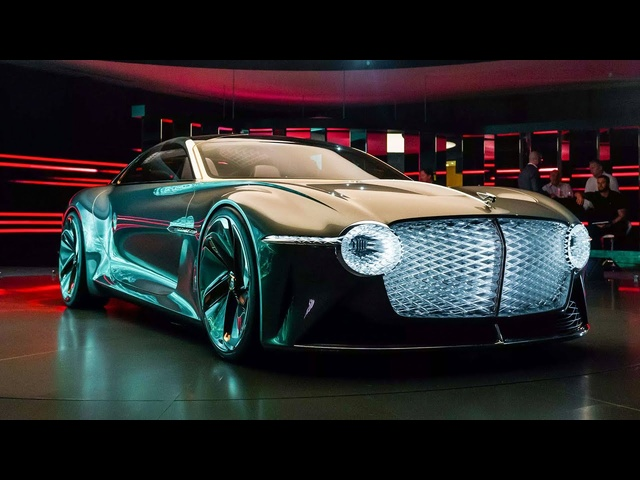 <em>Bentley</em> EXP 100 GT: Electric, Ultra High-Tech Luxury Of The Future | Carfection 4K