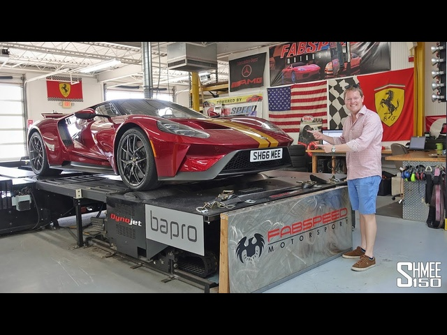 My Ford GT Dyno Run with SURPRISE RESULTS!