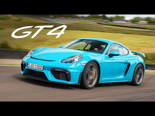 NEW Porsche 718 Cayman GT4: Track Review | Carfection 4K