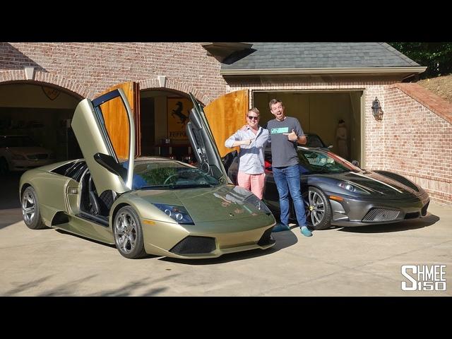 Visiting VINwiki's Garage with aUnique Lamborghini LP640!