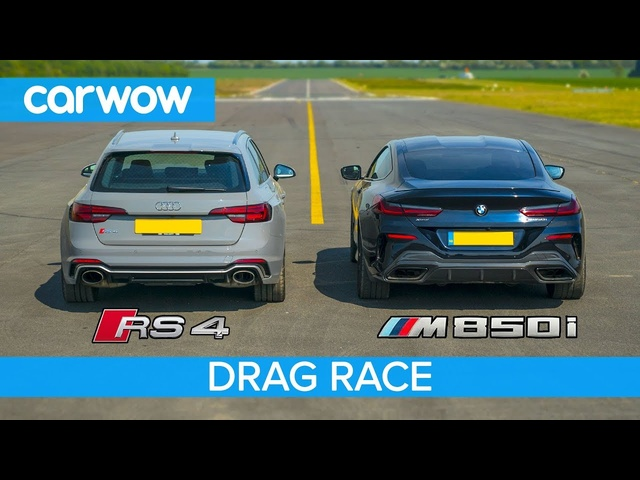BMW M850i v <em>Audi</em> RS4 - DRAG RACE, ROLLING RACE & BRAKE TEST