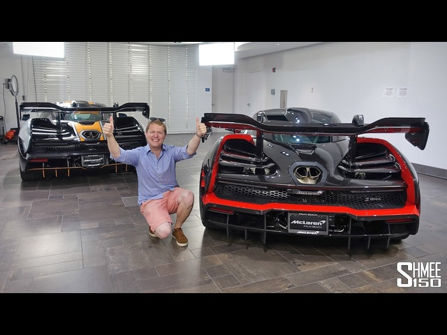 DOUBLE <em>McLaren</em> Senna COLLECTION DAY!