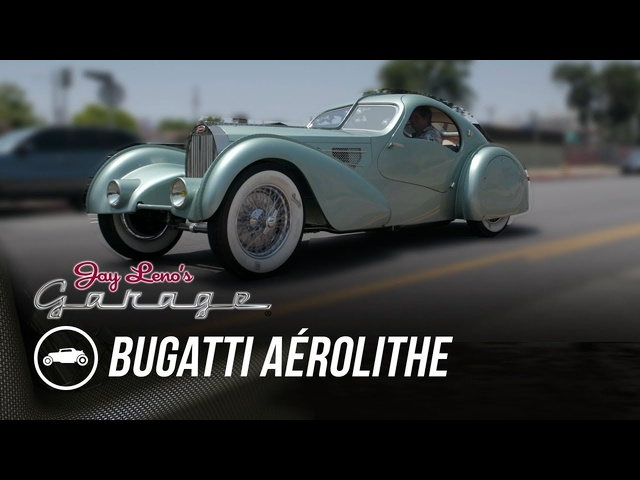 1934 Bugatti Aérolithe -Jay Leno's Garage