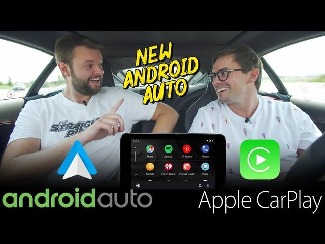 NEW 2019 Android Auto VS Apple Carplay -REAL WORLD TEST