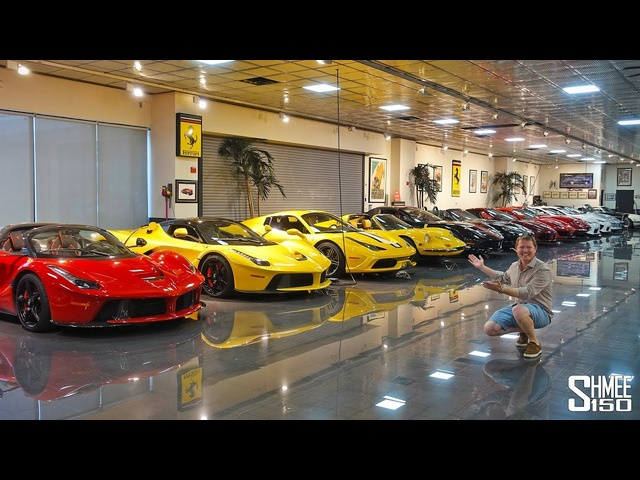 The Secret Supercar Toyroom in Miami!