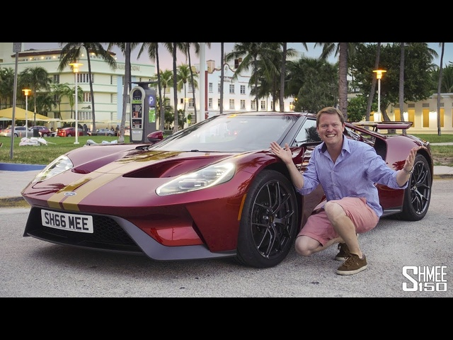 Crazy Reactions to My <em>Ford</em> GT in Miami!