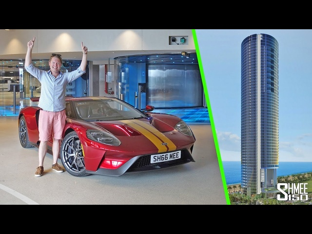 I Took My Ford GT Up to a56th Floor Miami Penthouse!