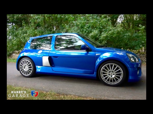 Renaultsport Clio V6 255 Phase 2 drive review