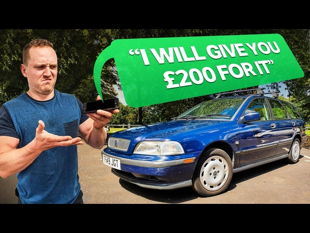 Flipping A£195 Car For Profit In 24 Hours
