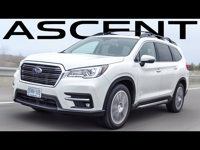 2019 Subaru Ascent Review - Under $40,000 3 Row SUV