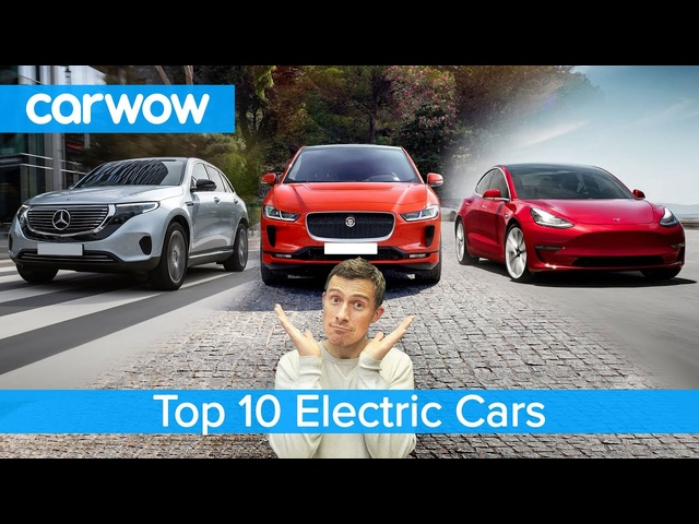 Tesla Model 3, Mercedes EQC, <em>Jaguar</em> I-Pace - the best electric cars named!