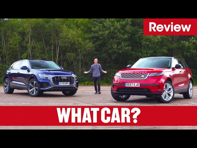 2020 <em>Audi</em> Q8 vs Range Rover Velar review – which is the best luxury SUV? | What Car?
