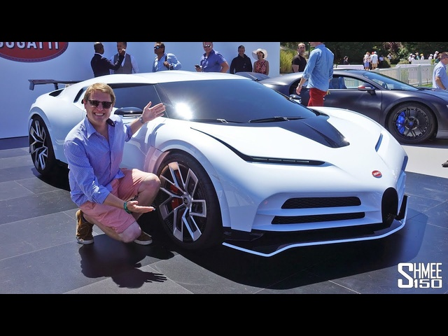 Check Out the New $9m <em>BUGATTI</em> CENTODIECI! | FIRST LOOK