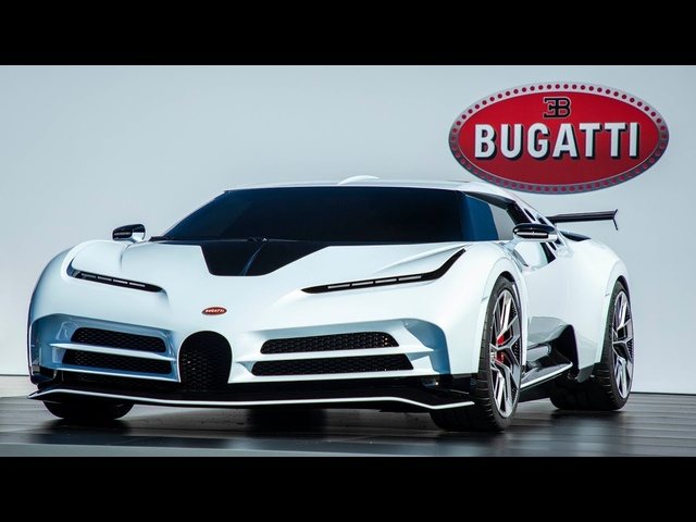 NEW Bugatti Centodieci: £9m EB110-Inspired Hypercar | Carfection