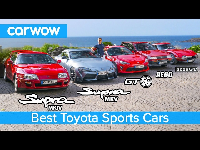 New Supra v MK4 v 2000 GT v GT86 v AE86 v Celica - the best <em>Toyota</em> sports cars!