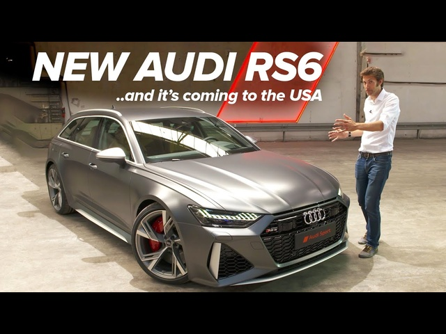 NEW <em>Audi</em> RS6: First Look | Carfection