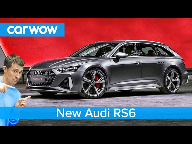 New 190mph Audi RS6 - meet the best real-world performance car!