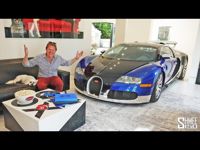 HYPERCARS INSIDE THE HOUSE! Veyron, LaFerrari and 599 GTO Drive
