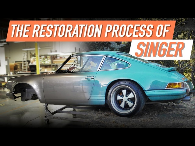 The Incredible Detail Behind The Singer Restoration Process