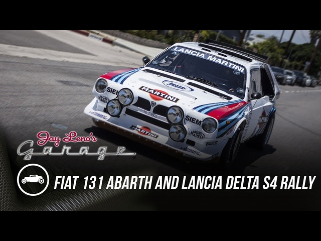1978 Fiat 131 Abarth and 1986 Lancia Delta S4 Rally Cars - Jay Leno's Garage