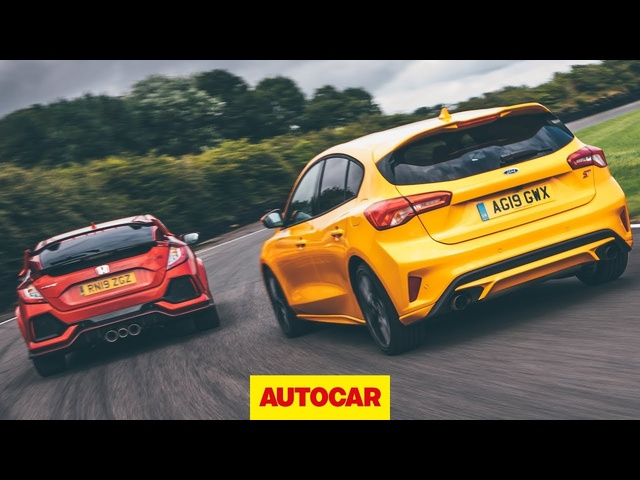 Track battle: 2020 Ford Focus ST vs <em>Honda</em> Civic Type R | Autocar