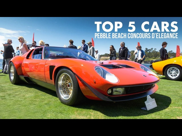 Top 5 Cars: Pebble Beach Concours d'Elegance 2019 | Carfection