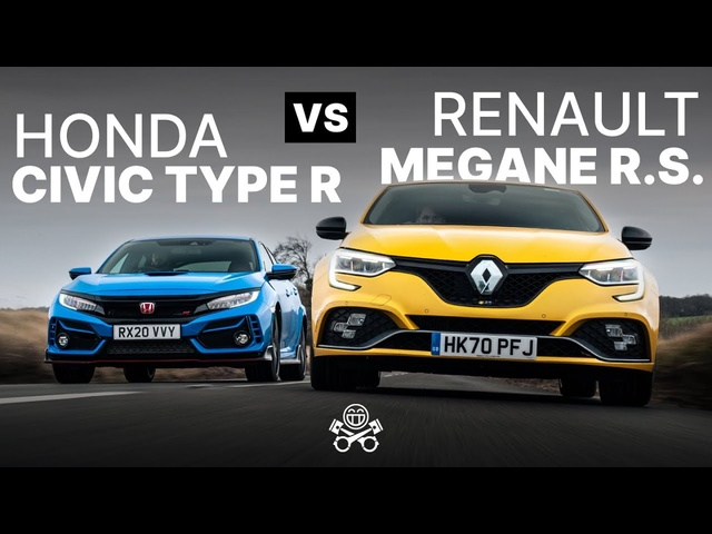 <em>Honda</em> Civic Type R vs Renault Megane R.S. Trophy | PistonHeads