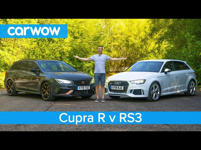 <em>Audi</em> RS3 vs SEAT Leon Cupra R - see if the <em>Audi</em> is really worth £9,000 more!