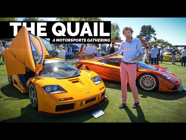 The World's Most Exclusive Car Show: The Quail 2019 | Carfection