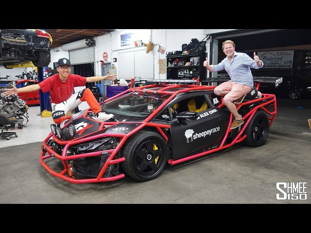 Alex Choi Explains His UNICORN V3 Lamborghini Rally Car!