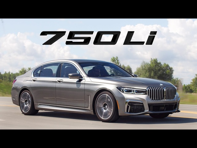 2020 BMW 750Li Review - Comfort Plus Big Grille