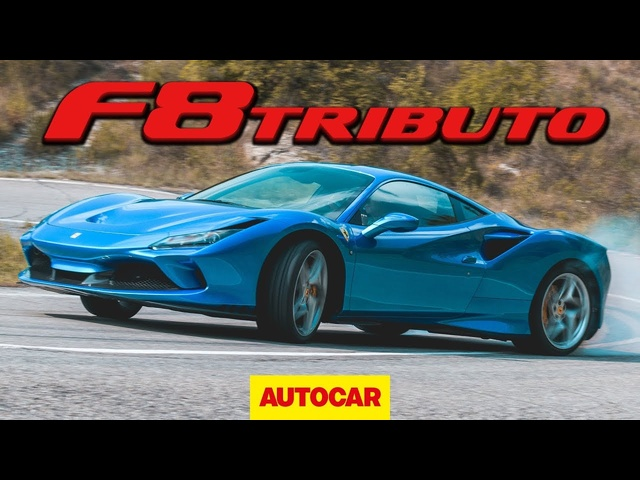<em>Ferrari</em> F8 Tributo 2020 review - 710bhp V8 supercar on road and track | Autocar