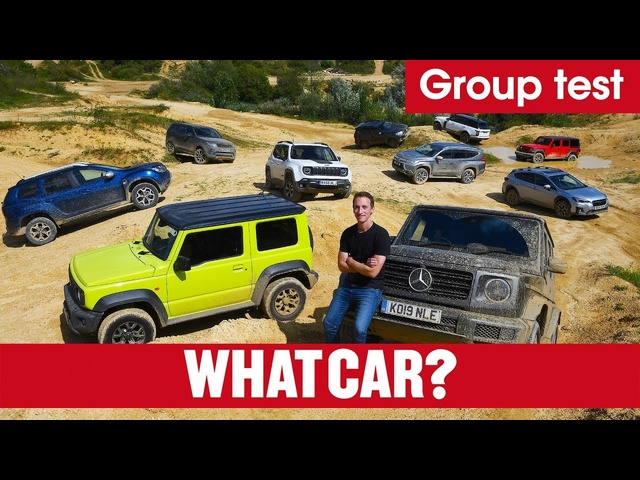 Best 4x4s 2020 – What's the best off-roader you can buy? Jeep, Jimny, G-Wagen, & more | What Car?