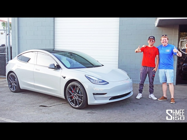 Alex Choi Reveals the <em>Tesla</em> Model 3 GADGET OVERLOAD!