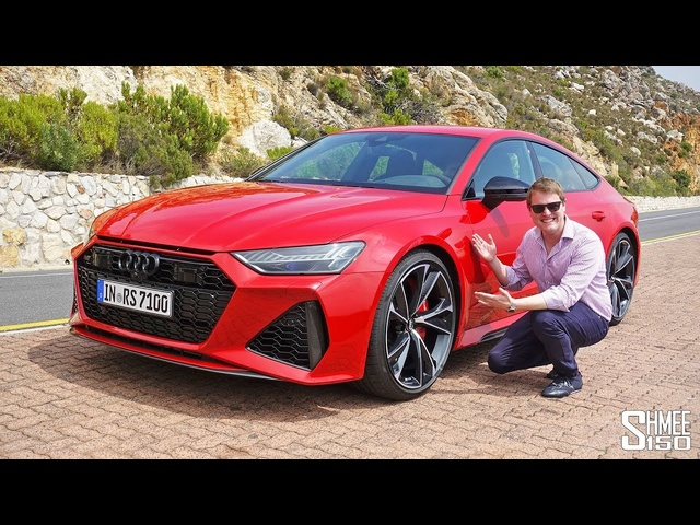 My Exclusive First Drive in the New 2020 <em>Audi</em> RS7 Sportback!