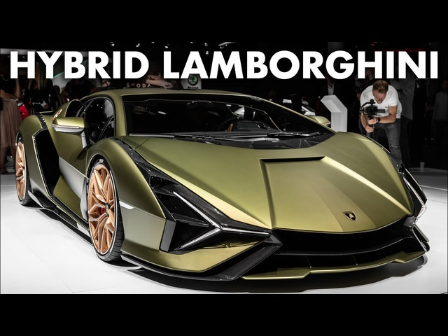 Lamborghini SIAN: First Look At The Hybrid Aventador SJV | Carfection