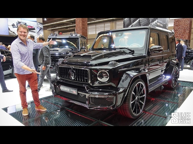 The Brabus G V12 900 Is a €600,000 One of Ten BEAST!