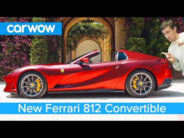 New 211mph <em>Ferrari</em> convertible - it has a N/A V12!