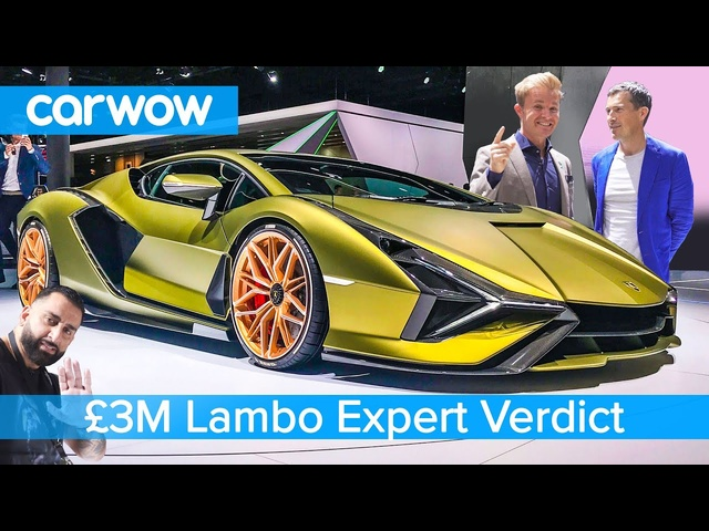 Is the Lamborghini Sian worth £3M with Nico Rosberg… and Yianni!