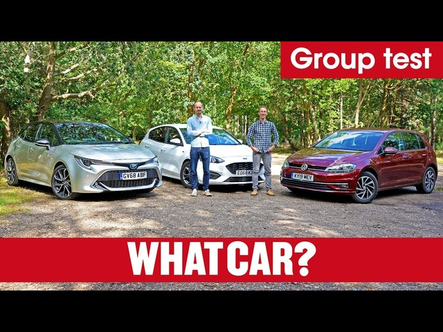2020 Toyota Corolla vs VW Golf vs Ford Focus – is hybrid better than petrol or diesel? | What Car?