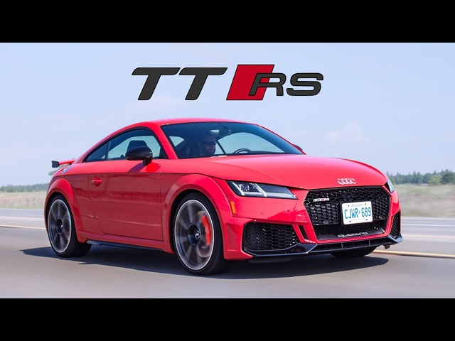 2019 Audi TTRS Review - 5 Cylinders of Fun