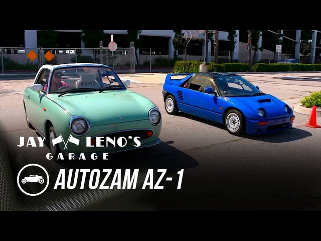 Best Cars of the 90's featuring the 1992 Autozam AZ-1 - Jay Leno's Garage