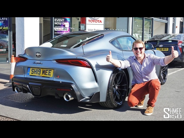 IT'S HERE! Collecting My New <em>Toyota</em> GR Supra
